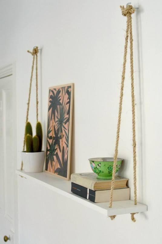 How To Make Diy Hanging Shelf The Easy Way | Amazing Home Design