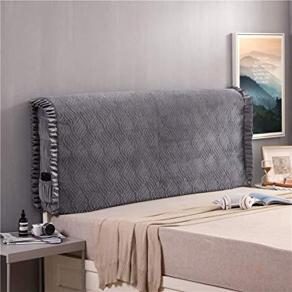 Amazon.com: LZTET Fabric Headboard Cover Protector Bedside Super