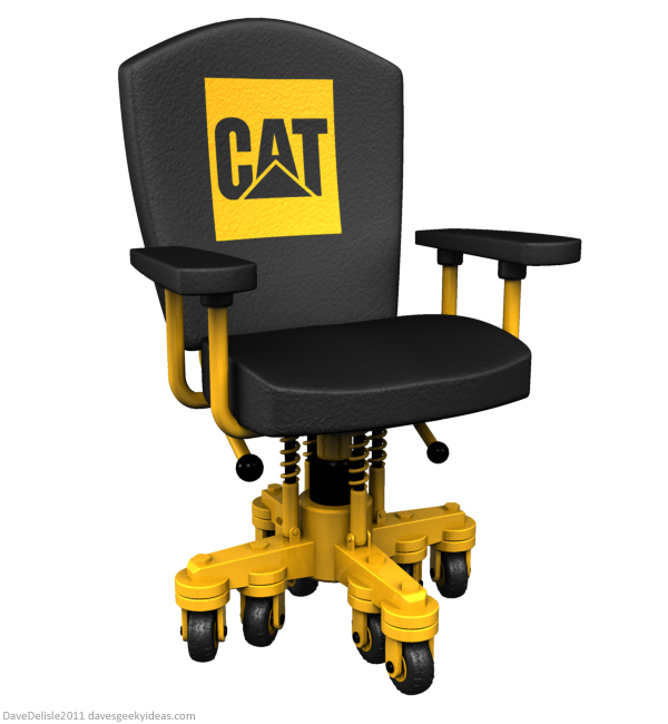 Heavy Duty Office Chair u2013 Dave's Geeky Ideas