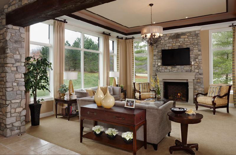 Model Homes Interiors For Exemplary Model Home Interiors With Well