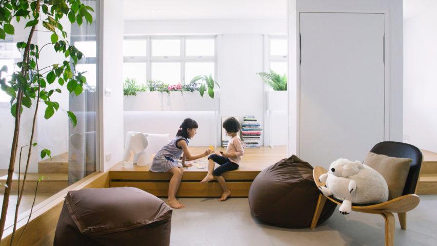 Dezeen's top 10 home interiors of 2018