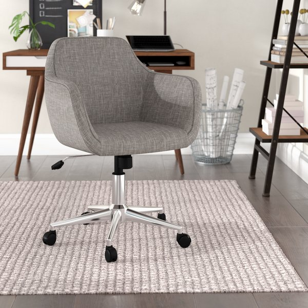 Langley Street Rothenberg Upholstered Home Office Chair & Reviews