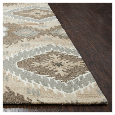 Suffolk Focused Medallion Ikat Rug - Rizzy Home : Target