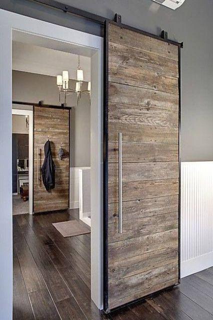 Smart interior sliding doors