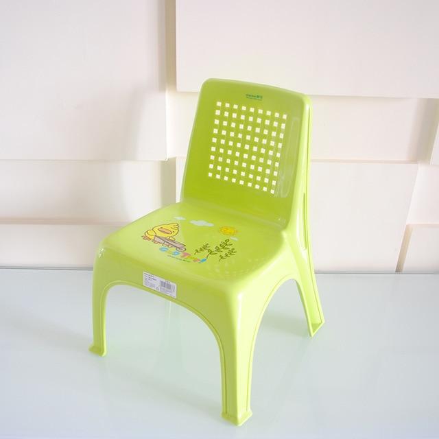 Kid chairs child cute slip plastic stool chair seat thickened 0821