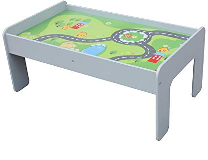 Amazon.com: Pidoko Kids Train Table, Grey - Perfect Toy Gift Set for