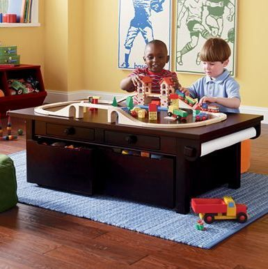 Children's Activity Table | Dream Home | Pinterest | Kids play table