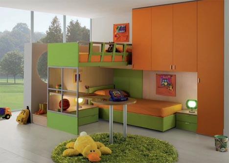 Interactive Interiors: Convertible Kids Bedroom Furniture | Designs