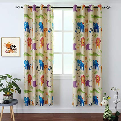 Amazon.com: BGment Kids Blackout Curtains - Grommet Thermal