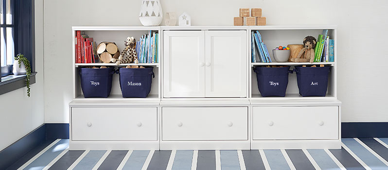Kids & Nursery Room and Toy Storage | Pottery Barn Kids