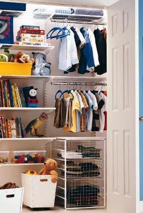 STORE   Kids Wardrobe - Elfa Best Selling Solution