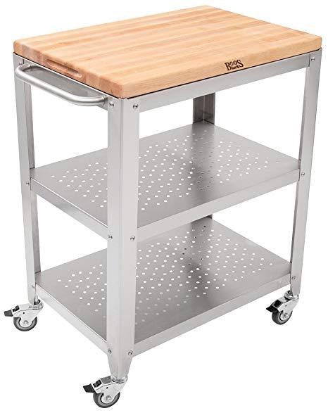Amazon.com - John Boos Block Culinarte Stainless Steel Kitchen Cart