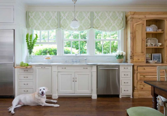 Curtains for the kitchen - 34 photo ideas for inspiration