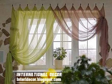 Interior Design 2014: Contemporary Kitchen curtain ideas 2014