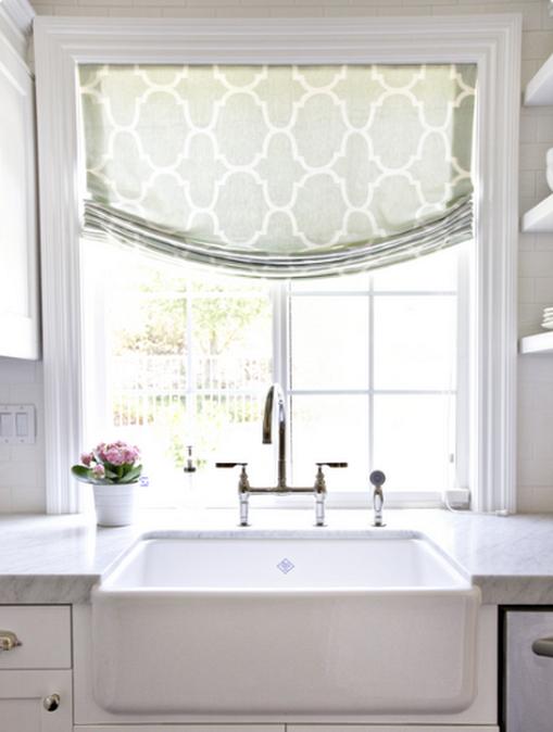 20+ Kitchen Curtain Decorating Ideas Above Sink | Kitchen