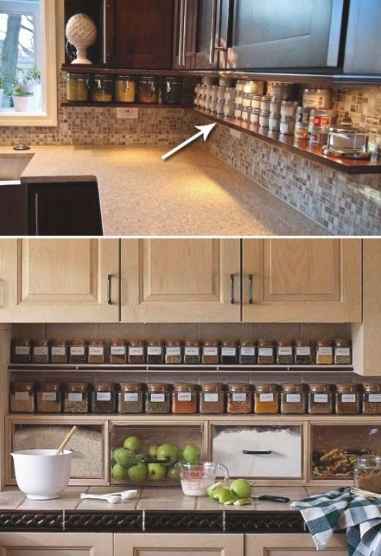 The Best Ideas from Stylish, Smart & Small Kitchen Storage | DIY