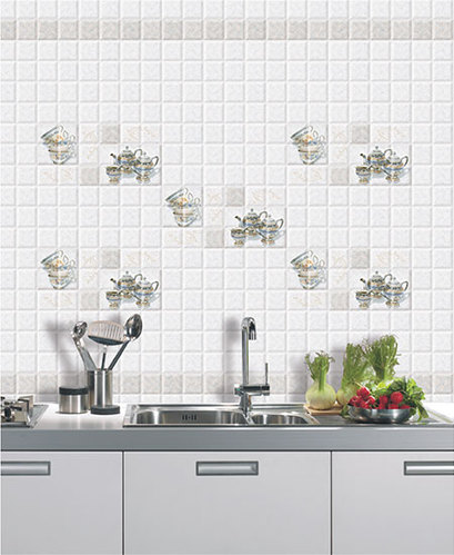 Digital Ceramic 10x15 Kitchen Tiles, Thickness: 8 - 10 Mm, Rs 90