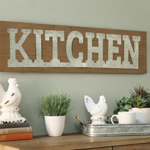 French Kitchen Wall Decor | Wayfair