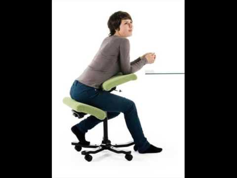 Ergonomic Kneeling Chairs - YouTube