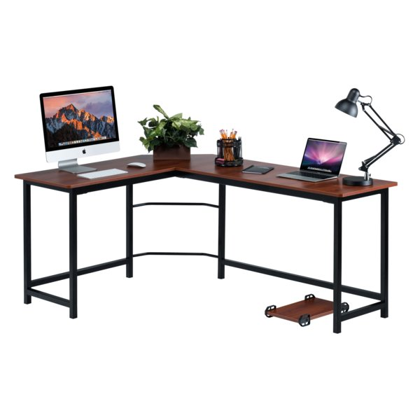 Red Barrel Studio Ohioville Stylish L-Shaped Computer Desk & Reviews