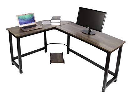 Amazon.com : Easeurlife L Shaped Computer Desk Corner Desks for Home