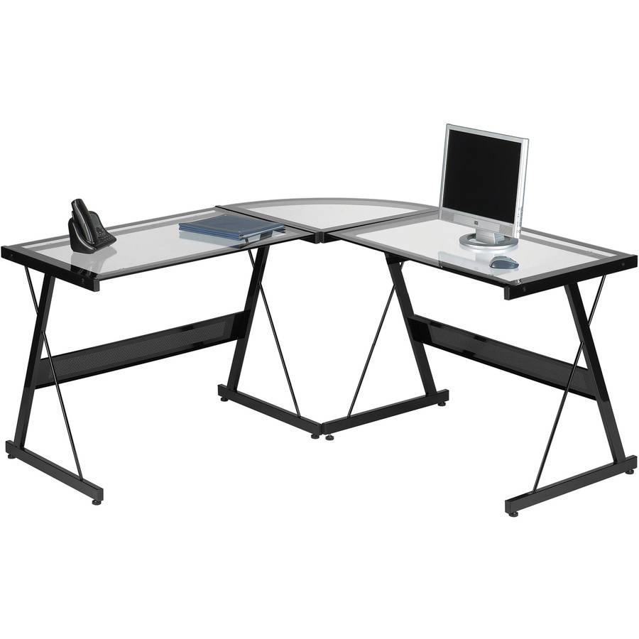 Santorini L-Shaped Computer Desk, Multiple Colors - Walmart.com