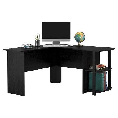 Fieldstone L-Shaped Desk With Bookshelves - Room & Joy : Target