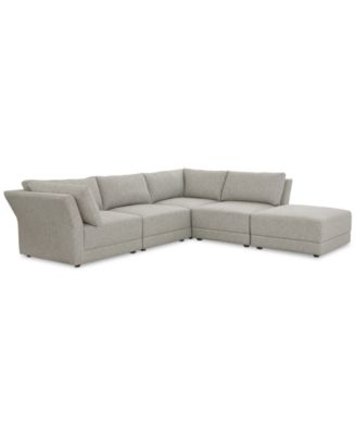 Furniture CLOSEOUT! Mylie 5-Pc. Fabric