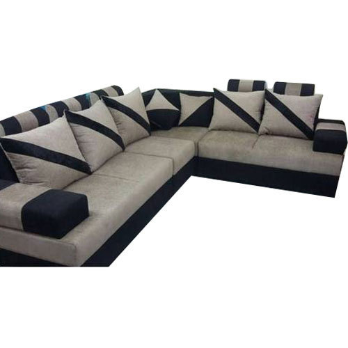 Designer L Type Sofa Set at Rs 31500 /set | L Shape Sofa Set | ID