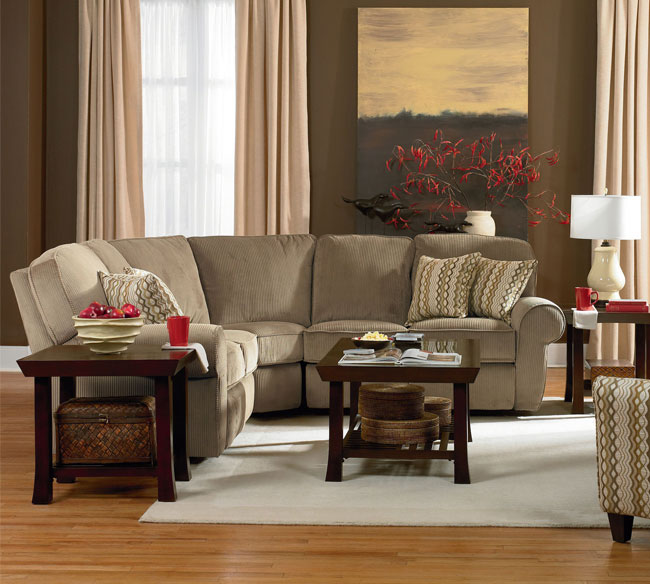 Megan Reclining Sectional 343 | Sofas and Sectionals
