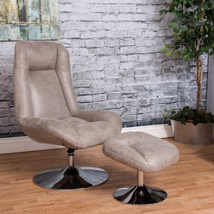 Large Chair And Ottoman | Wayfair