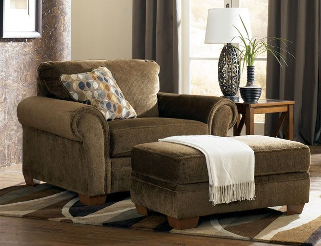 Oversized Chair and Ottoman | Furniture | Oversized chair, ottoman