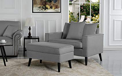 Amazon.com: Overstock Mid-Century Living Room Large Accent Chair