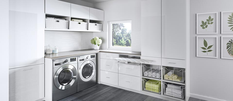 Laundry Room Cabinets & Storage Ideas by California Closets