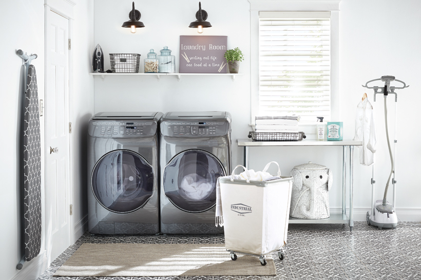 Coastal Retreat Laundry Room u2013 Shop by Room u2013 The Home Depot