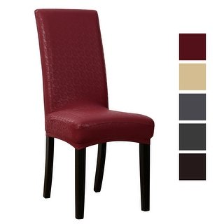 Buy Faux Leather Chair Covers & Slipcovers Online at Overstock | Our