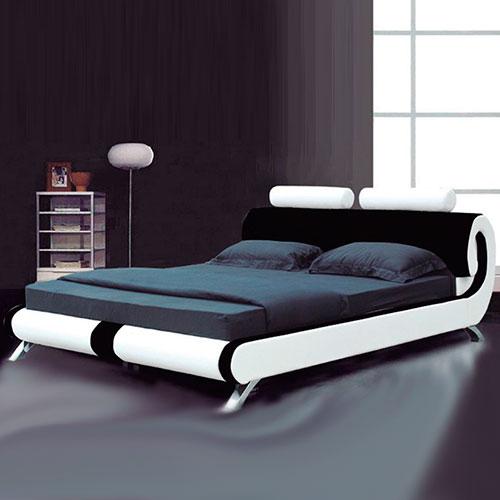 Paris Modern Italian Designer Leather Bed - Luxury Leather Beds
