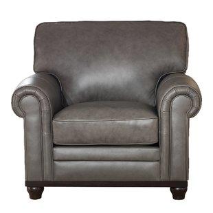 Full Grain Leather Club Chair | Wayfair