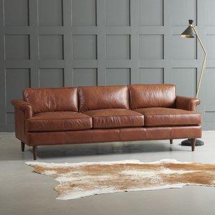 Leather Sofas You'll Love | Wayfair
