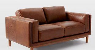 Dekalb Leather Loveseat (68