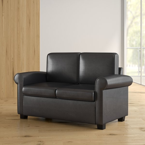 How to decorate your home using leather   loveseat sleeper