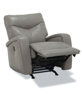 Furniture Erith Leather Power Rocker Recliner - Furniture - Macy's