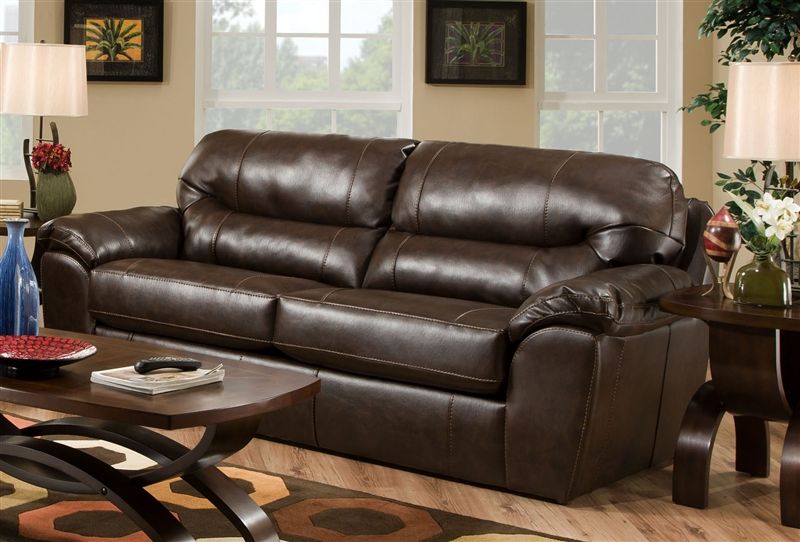 Brantley Leather Sofa Sleeper by Jackson Furniture - 4430-04