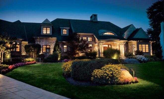 4 Advantages of LED Landscape Lighting - Residence Style