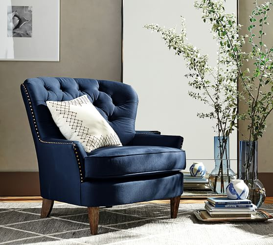 Armchairs, Living Room Chairs & Accent Chairs | Pottery Barn
