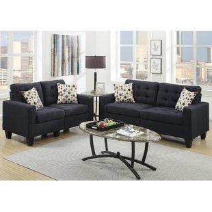 Fabric Living Room Sets   Wayfair