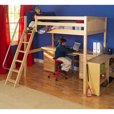 Amazon.com: Maxtrix Kids Grand 3 / Giant 3 Full High Loft Bed with