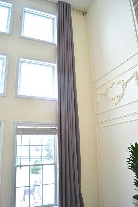 Amazon.com: Ikiriska Blackout Extra Long Curtains for 2 Story Living