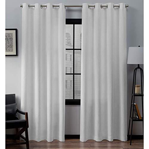 Extra Long White Curtains: Amazon.com