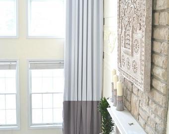 Extra long drapes | Etsy